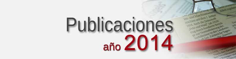 Publicaciones Corpal 2014
