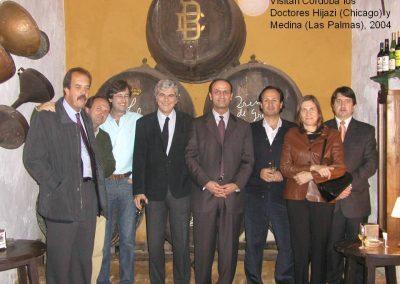Visita a Córdoba de los Doctores Hijazi (Chicago) y Medina (Las Plamas)