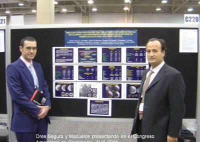 Congreso American Heart Association año 2005 Dres Segura y Mazulelos