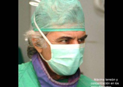 Máxima concentración en los procedimientos