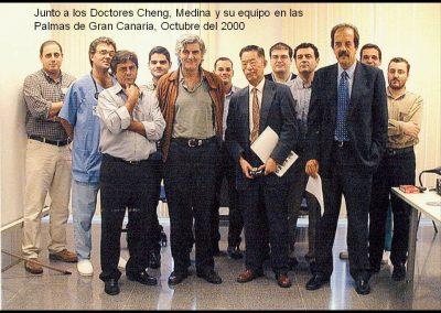 Doctores Cheng, Medina y su equipo en Las Palmas de Gran Canaria
