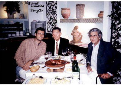 Con el Dr Cheng en Córdoba año 2001