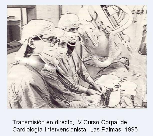 IV Curso Corpal de cardiología intervencionista, Las Palmas 1995