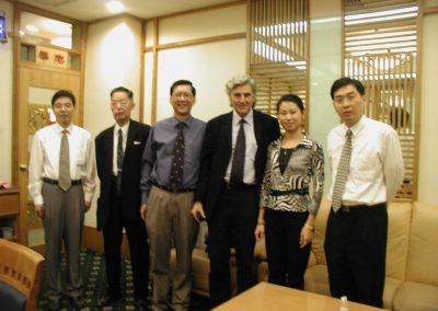 Grupo Corpal con el Dr Cheng año 2002
