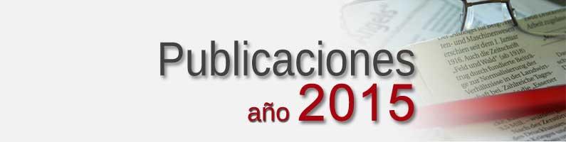 Publicaciones Corpal 2015