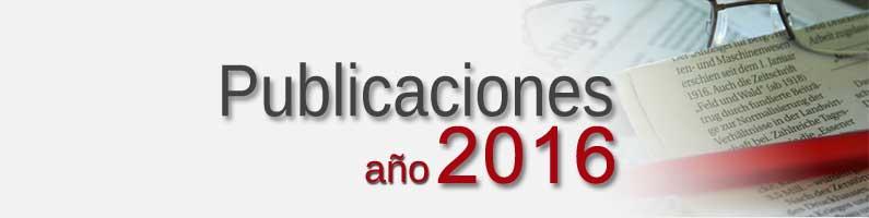 Publicaciones Corpal 2016